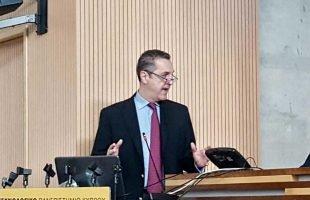 Ομιλία του Δρ. Γιώργου Βησσαράκη στο Μέλαθρον Αγωνιστών ΕΟΚΑ