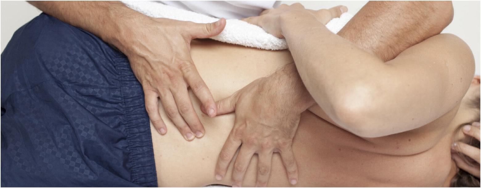 Εφαρμογή της χειροπρακτικής θεραπείας
